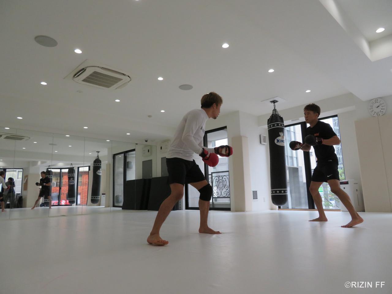 画像2: 【公開練習】 『RIZIN.13』朝倉未来、朝倉海が公開練習!!
