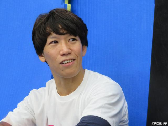 画像4: 【公開練習】 『RIZIN.13』黒部三奈が公開練習!!