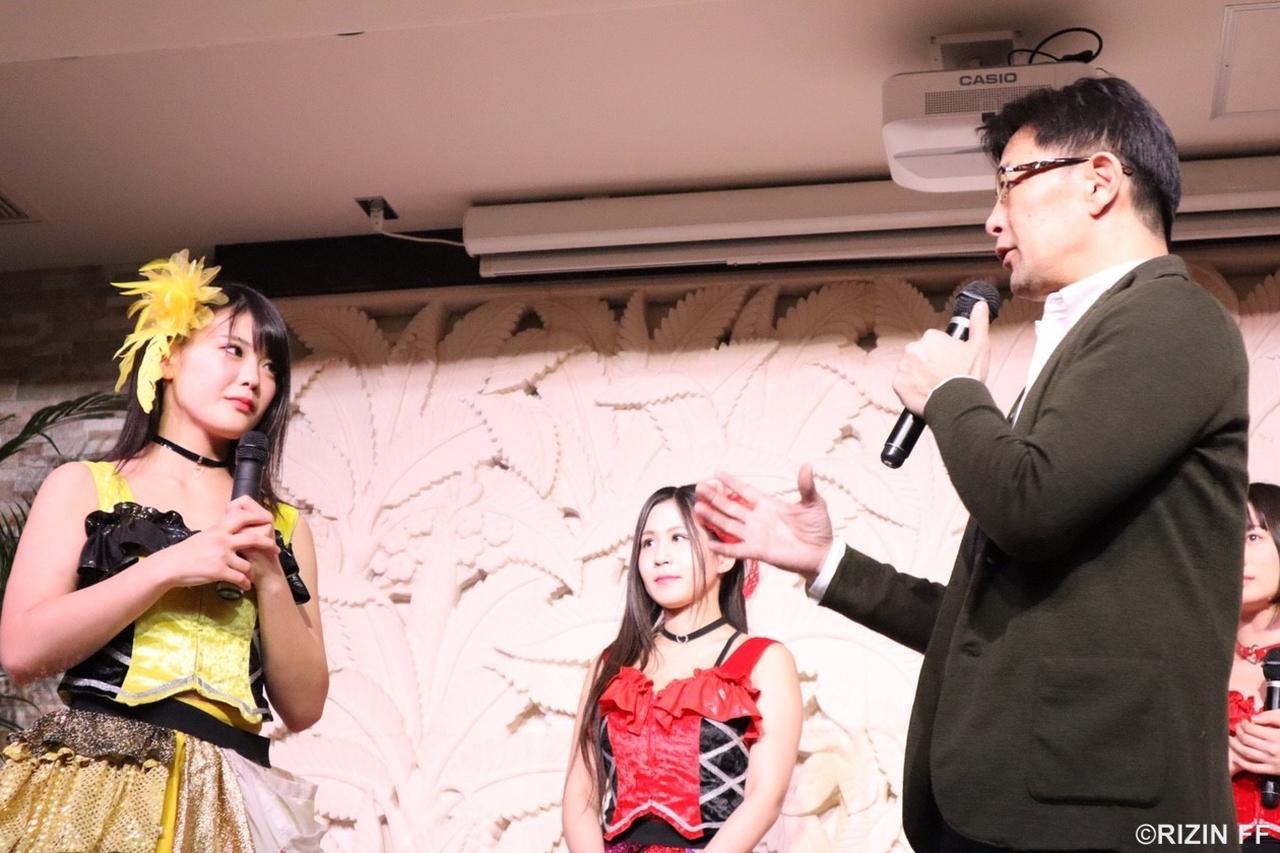 画像1: 【記者会見】 『Cygames presents RIZIN 平成最後のやれんのか!』 川村虹花の参戦決定! あい との対戦を発表!!