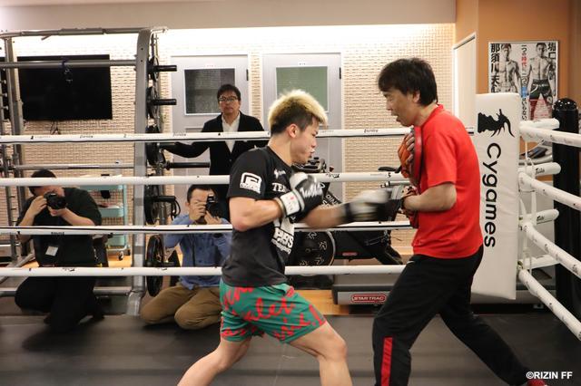 画像2: 【公開練習】 那須川天心、白鳥大珠が公開練習!!