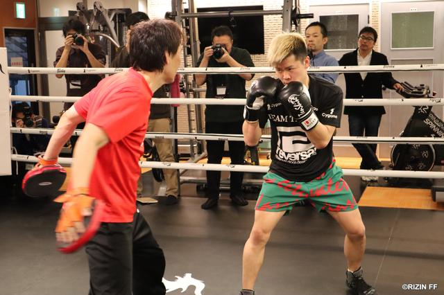画像1: 【公開練習】 那須川天心、白鳥大珠が公開練習!!