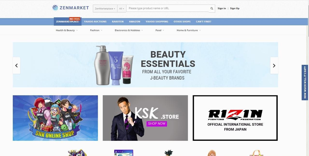 画像: 海外在住の『RIZIN』ファンに朗報! 「ZENMARKETPLACE」で『RIZIN』グッズ販売がスタート!!