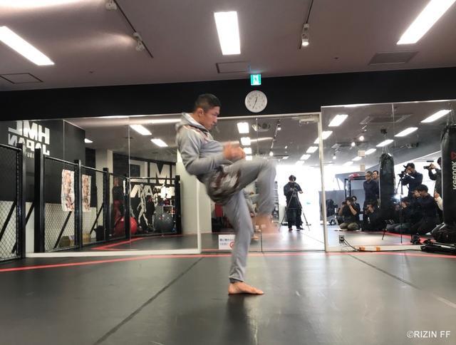 画像2: 【公開練習】 堀口恭司が公開練習!!