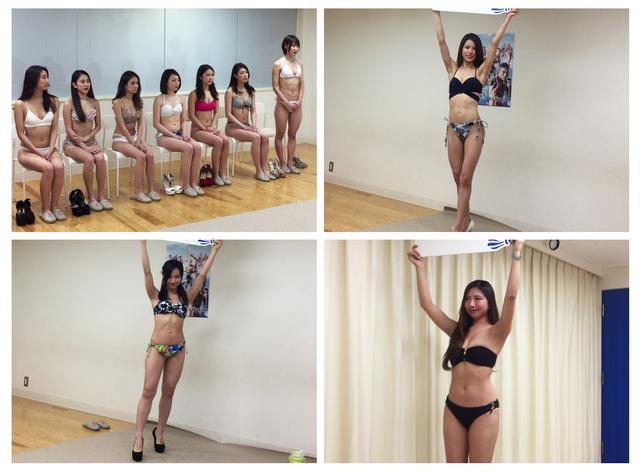 画像1: RIZINガールオーディション二次審査が終了!