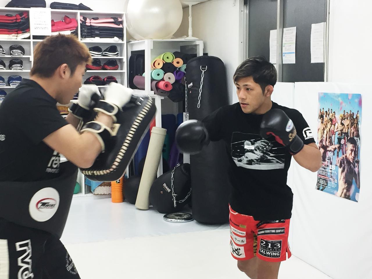 画像1: 「どんなに血だらけになっても、最後に勝つのは自分」RIZIN.15に出場する伊藤盛一郎が公開練習を実施!