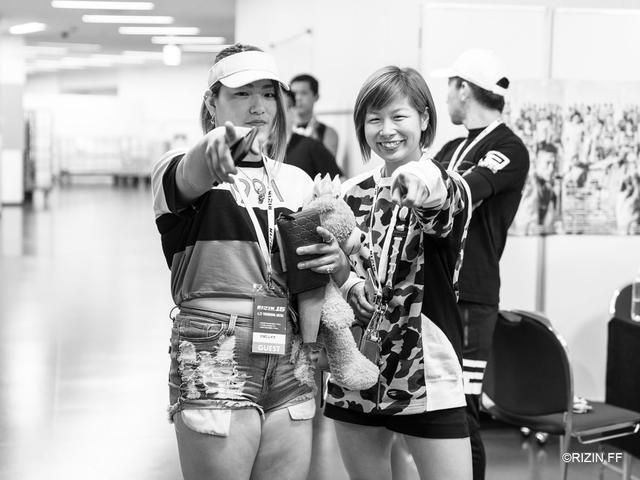 画像: 左:KINGレイナ、右:浅倉カンナ