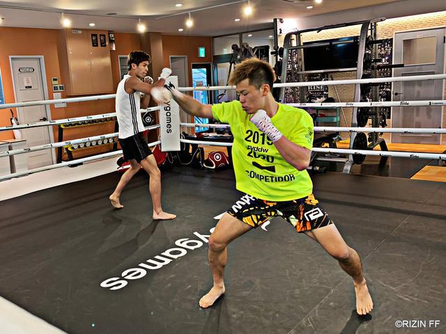 画像1: RIZIN.16に出場する那須川天心・白鳥大珠が公開練習を実施!