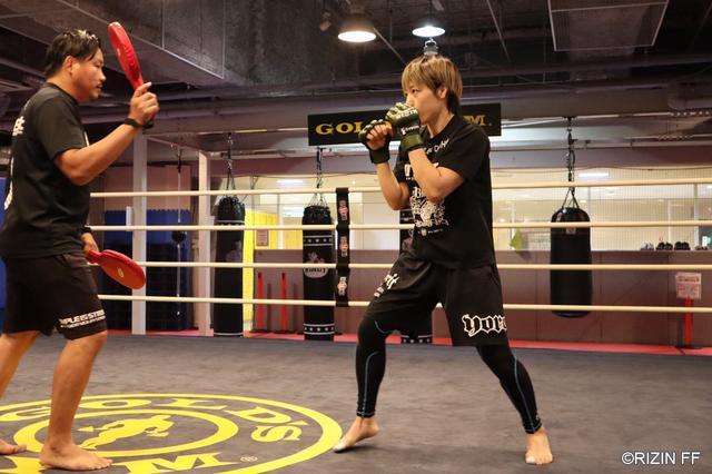 画像1: 「現世界王者相手に1本かKOで勝つ」RIZIN.16に出場する浜崎朱加が公開練習を実施!
