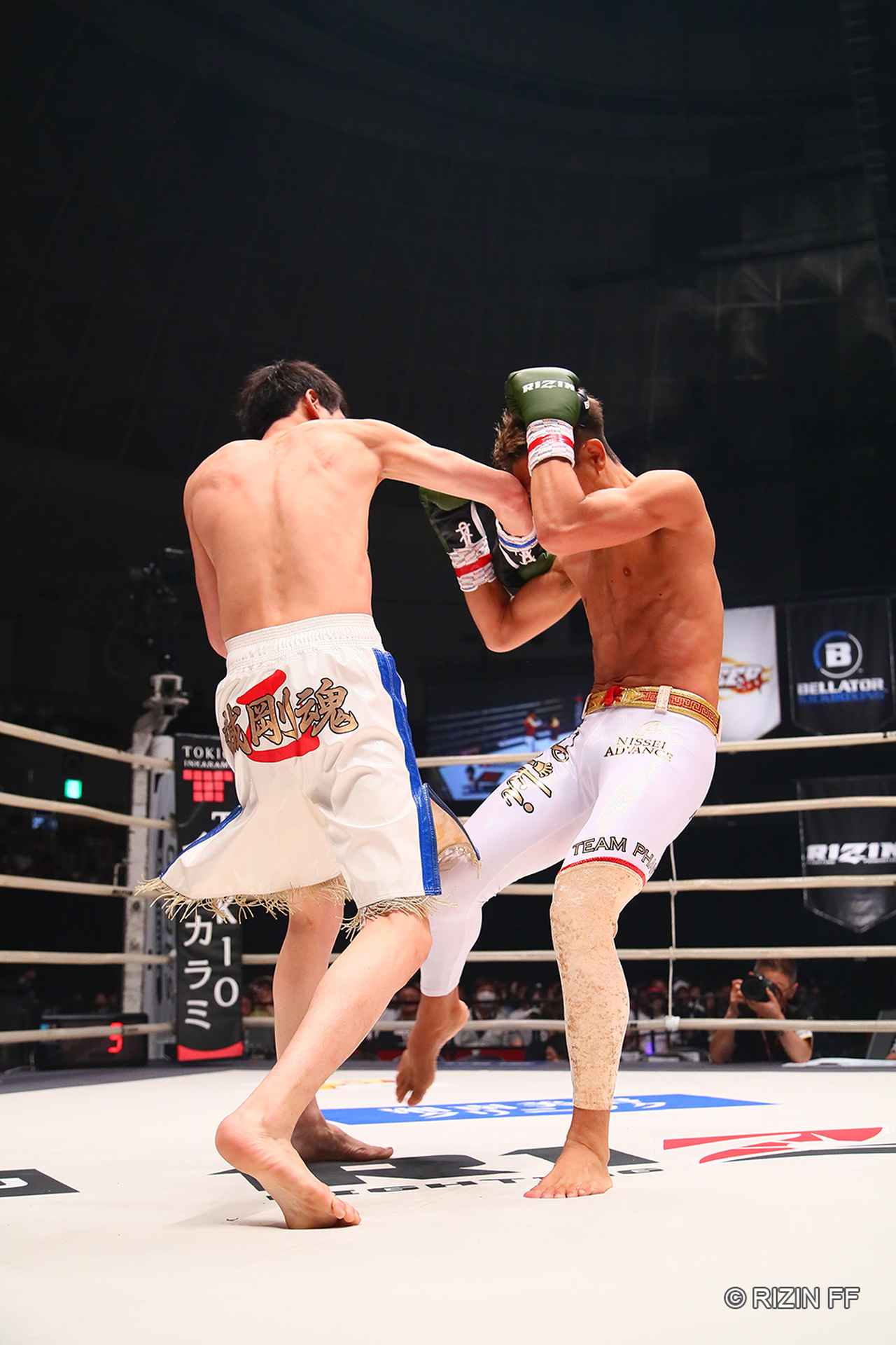 画像3: 【試合結果】RIZIN.16 第2試合(オープニングマッチ) 植山征紀 vs. 拳剛
