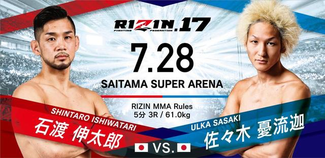 画像2: RIZIN.17 対戦カード