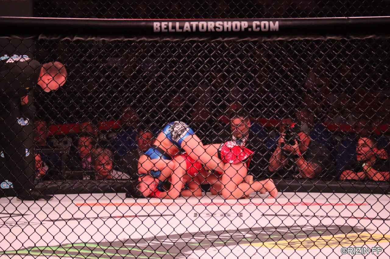 画像2: RENA、Bellatorデビュー戦で勝利ならず