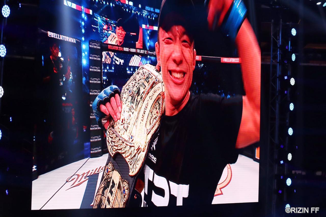 画像6: 堀口恭司、Bellatorバンタム級タイトルマッチを制し二大プロモーション同時制覇達成!