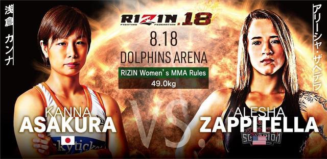 画像2: RIZIN.18 追加対戦カード
