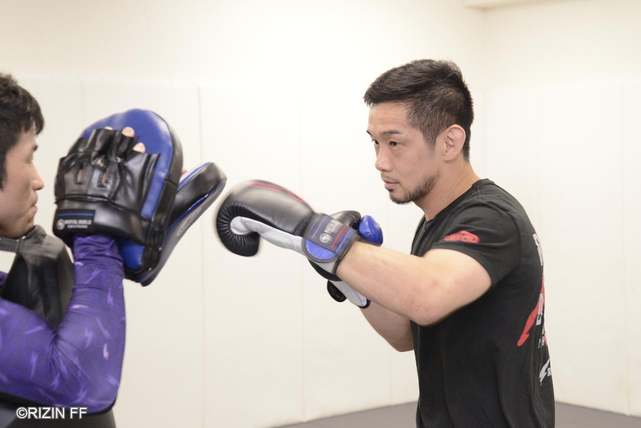 画像1: 「憂流迦はガッツもあってリスペクトしているので、当日はぶっ飛ばします」RIZIN.17に出場する石渡伸太郎が公開練習を実施!