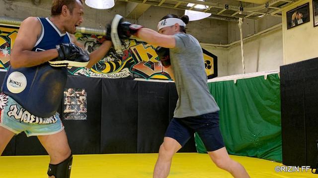 画像2: 「朝倉未来はメッキを塗るのに必死。化けの皮を剥がす」RIZIN.17に出場する矢地祐介が公開練習を実施!