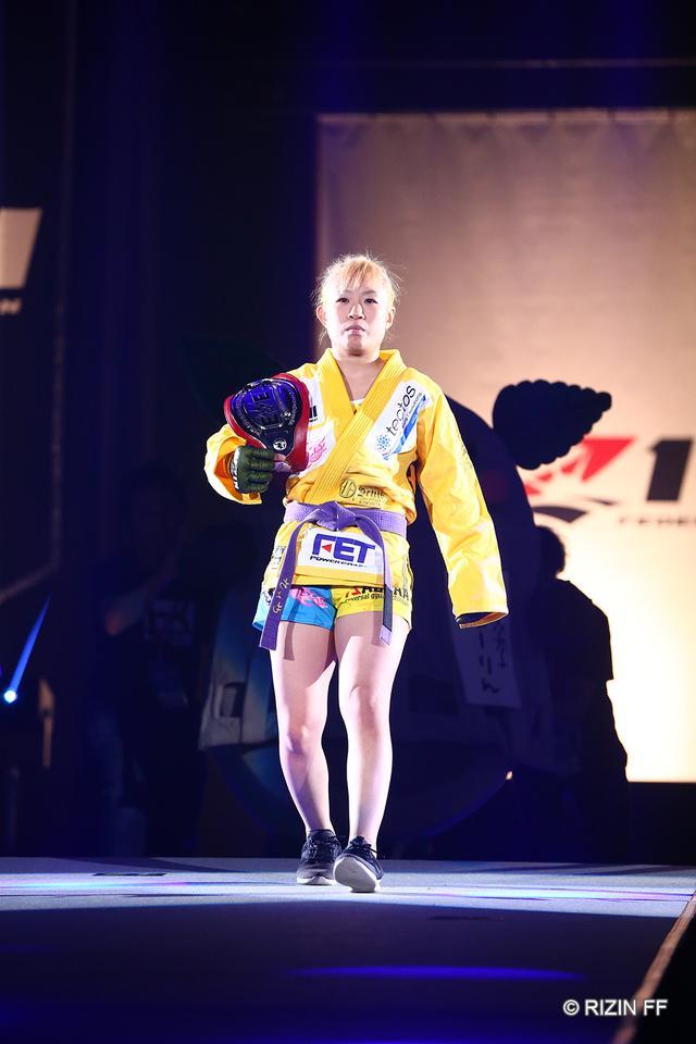 画像1: 【試合結果】RIZIN.17 第3試合 ハム・ソヒ vs. 前澤智