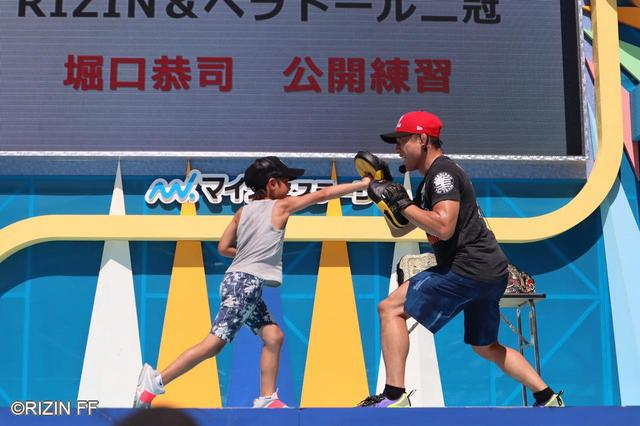 画像6: 「将棋みたいに詰めて、最終的に決める」GOOD SPEED presents RIZIN.18に出場する堀口恭司が『THE ODAIBA2019 』で練習を公開!