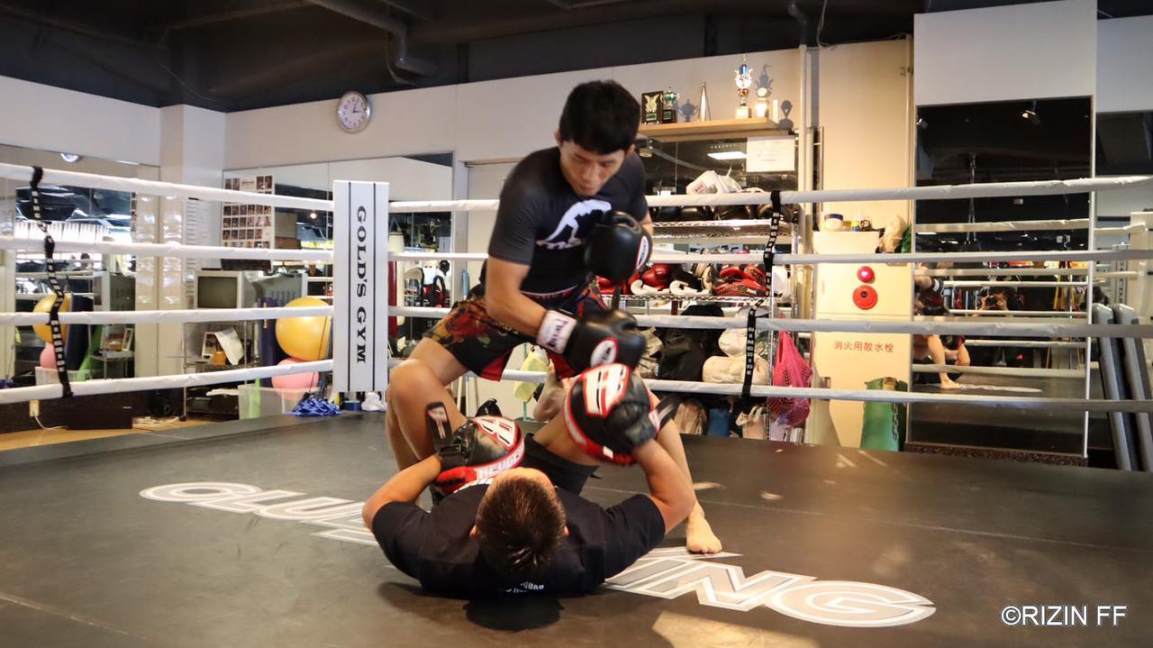 画像2: 「堀口選手との試合を実現する為に、圧倒して勝ちたい」GOOD SPEED presents RIZIN.18に出場する水垣偉弥が練習を公開!