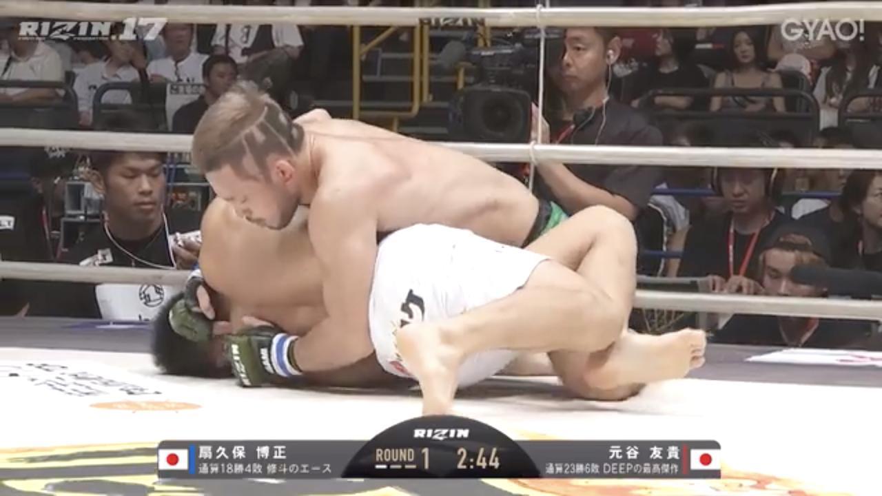 画像4: 教えてチャーリー!壮絶な殴り合いは元谷友貴の背中から生まれた!?RIZIN.17を振り返る! Vol.2
