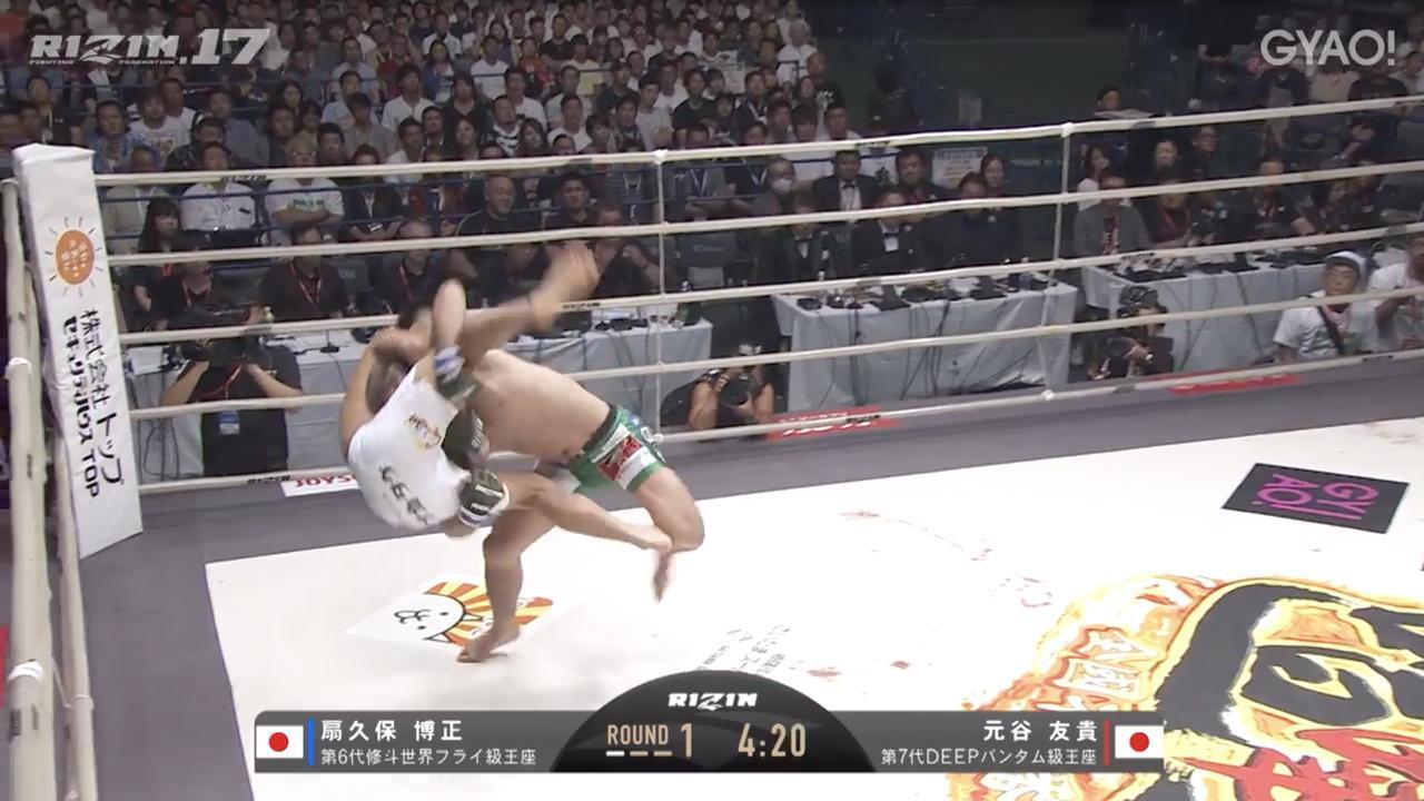 画像3: 教えてチャーリー!壮絶な殴り合いは元谷友貴の背中から生まれた!?RIZIN.17を振り返る! Vol.2
