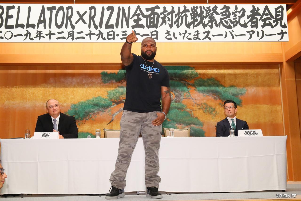 画像3: BELLATOR JAPAN 対戦カード発表!ヒョードル vs. ランペイジが決定!