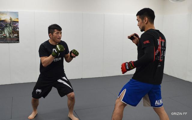 画像3: 石渡「つまらない試合になったら僕のせいではないです」BELLATOR JAPAN / RIZIN.20 参戦の石渡伸太郎と越智晴雄が公開練習!