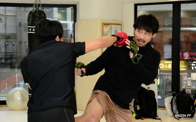 画像3: 朝倉未来「RIZINの強さを証明したい」BELLATOR対抗戦に挑む渡辺・中村・元谷・朝倉の練習を公開!