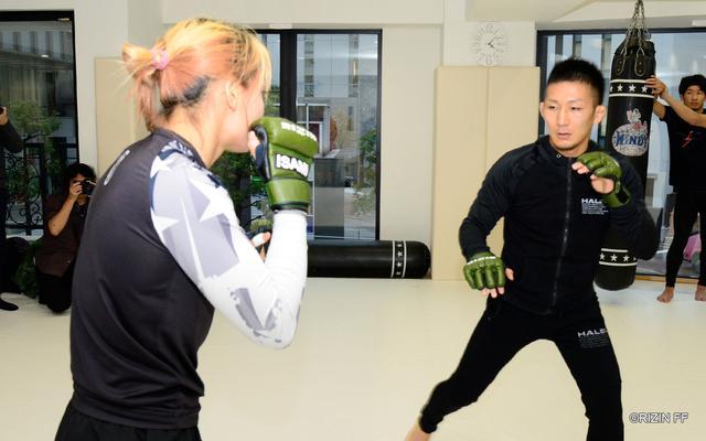 画像2: 朝倉未来「RIZINの強さを証明したい」BELLATOR対抗戦に挑む渡辺・中村・元谷・朝倉の練習を公開!