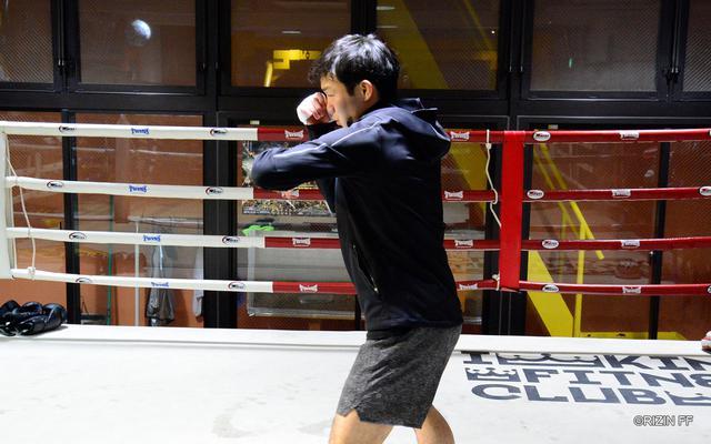 画像1: 「(那須川と)すごく噛み合うと思っています。俺はやりやすいだろうなと思っています」RIZIN初参戦 江幡塁の練習を公開!