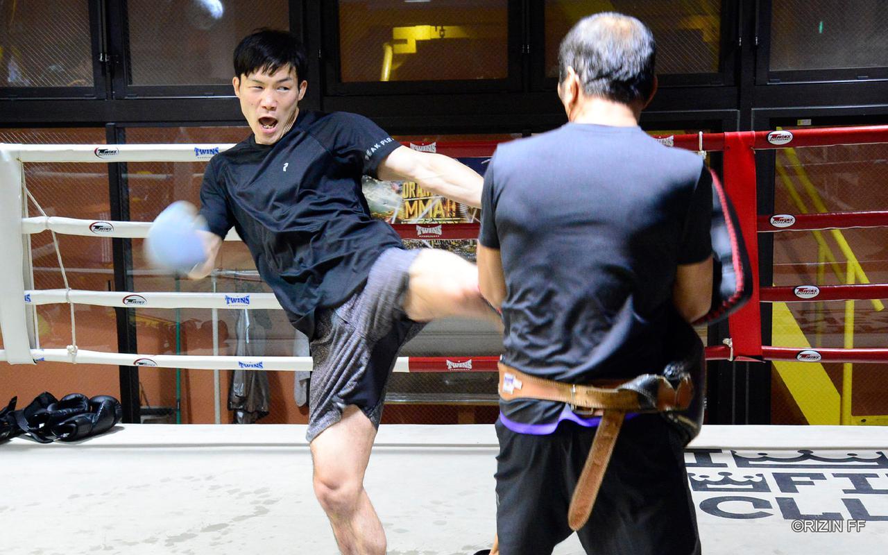 画像3: 「(那須川と)すごく噛み合うと思っています。俺はやりやすいだろうなと思っています」RIZIN初参戦 江幡塁の練習を公開!