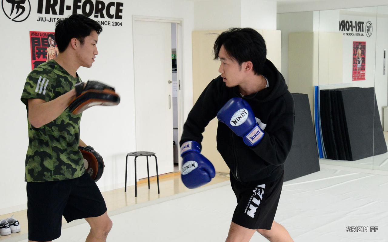 画像1: 「今回は倒し切れるかが課題。KOしたい」朝倉未来の練習を公開!