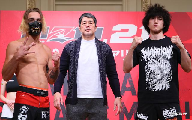 画像: Match.4 MMA - 61.0kg / 134.4lb