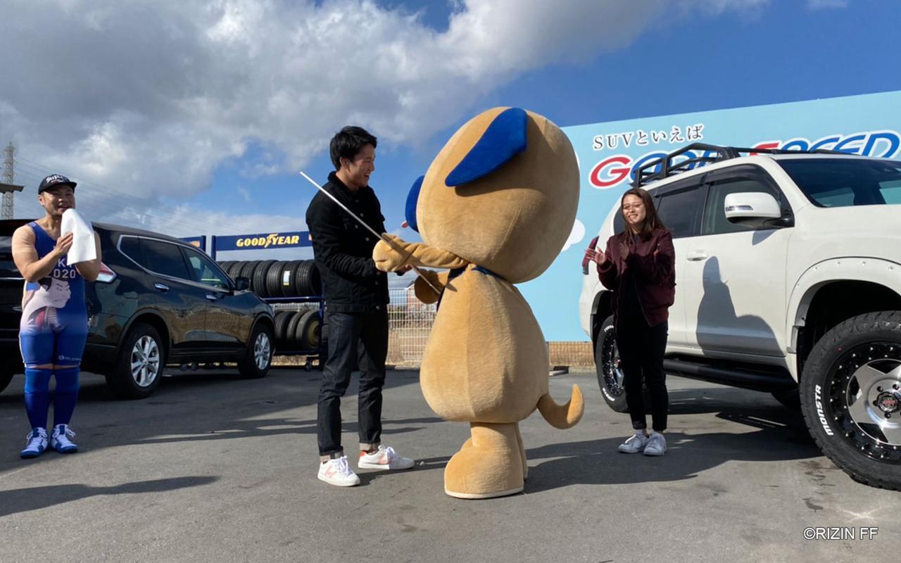 画像3: 大盛況!朝倉海トークショー&『GOOD SPEED presents RIZIN.18』勝利者賞 車両贈呈式