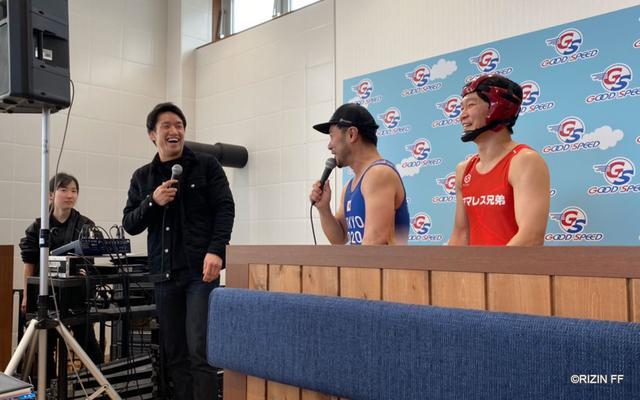 画像1: 大盛況!朝倉海トークショー&『GOOD SPEED presents RIZIN.18』勝利者賞 車両贈呈式
