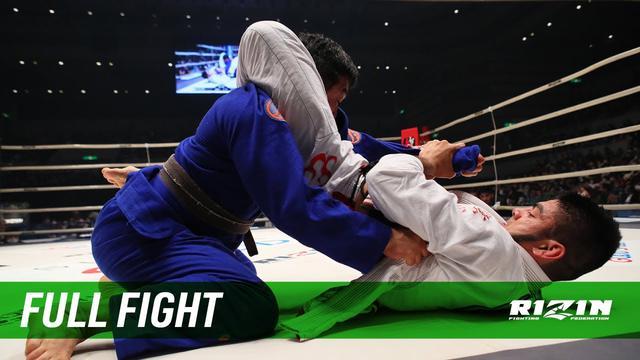 画像: Full Fight | ホベルト・サトシ・ソウザ vs. チーム中井(中井祐樹) / Roberto Satoshi Souza vs. Team Nakai - RIZIN.21 youtu.be