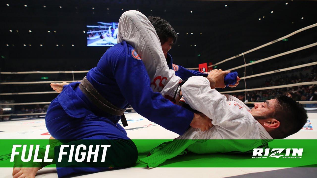 画像: Full Fight   ホベルト・サトシ・ソウザ vs. チーム中井(中井祐樹) / Roberto Satoshi Souza vs. Team Nakai - RIZIN.21 youtu.be