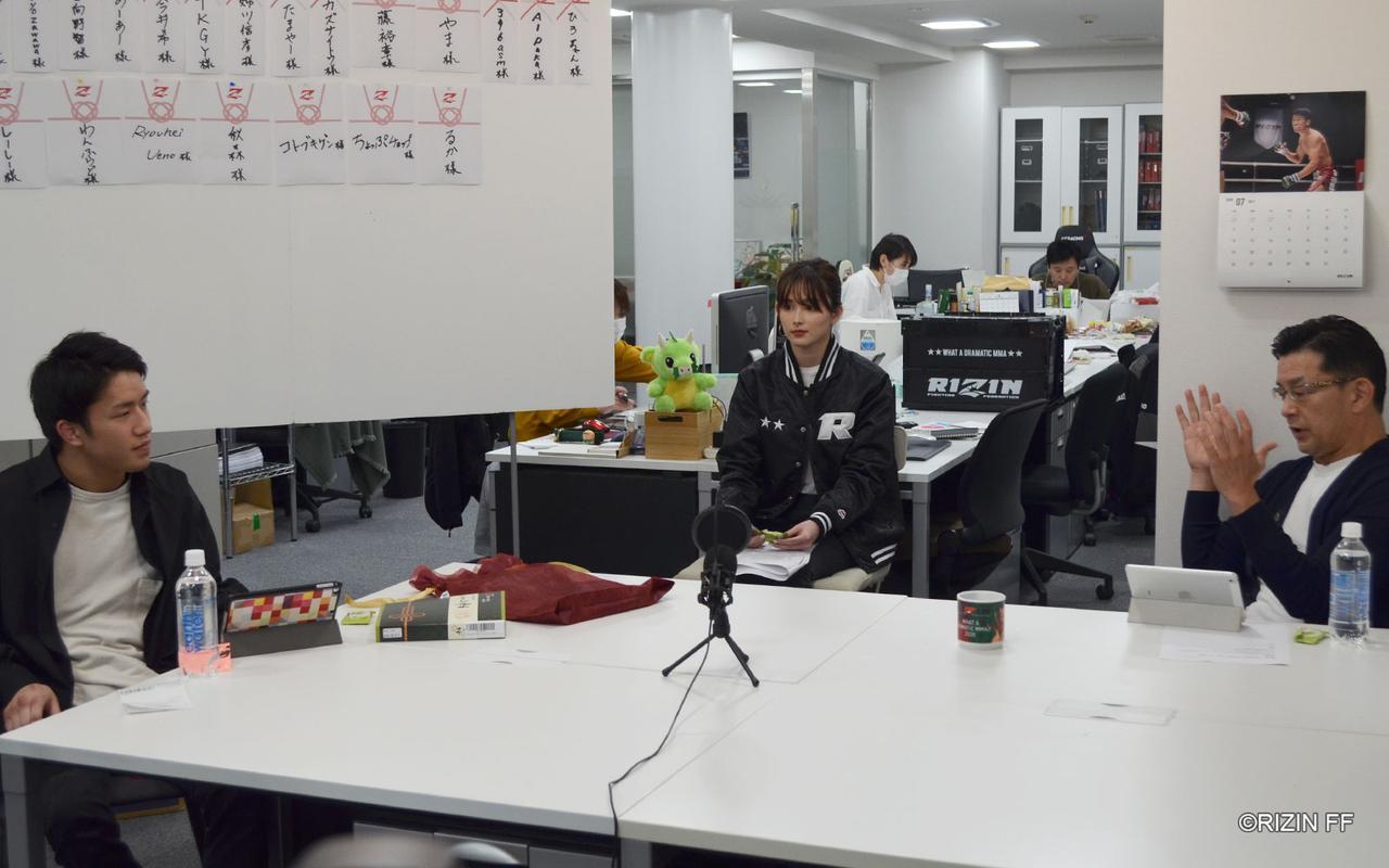 画像3: ゲストに朝倉海が登場!第2回「榊原社長に呼び出されました」