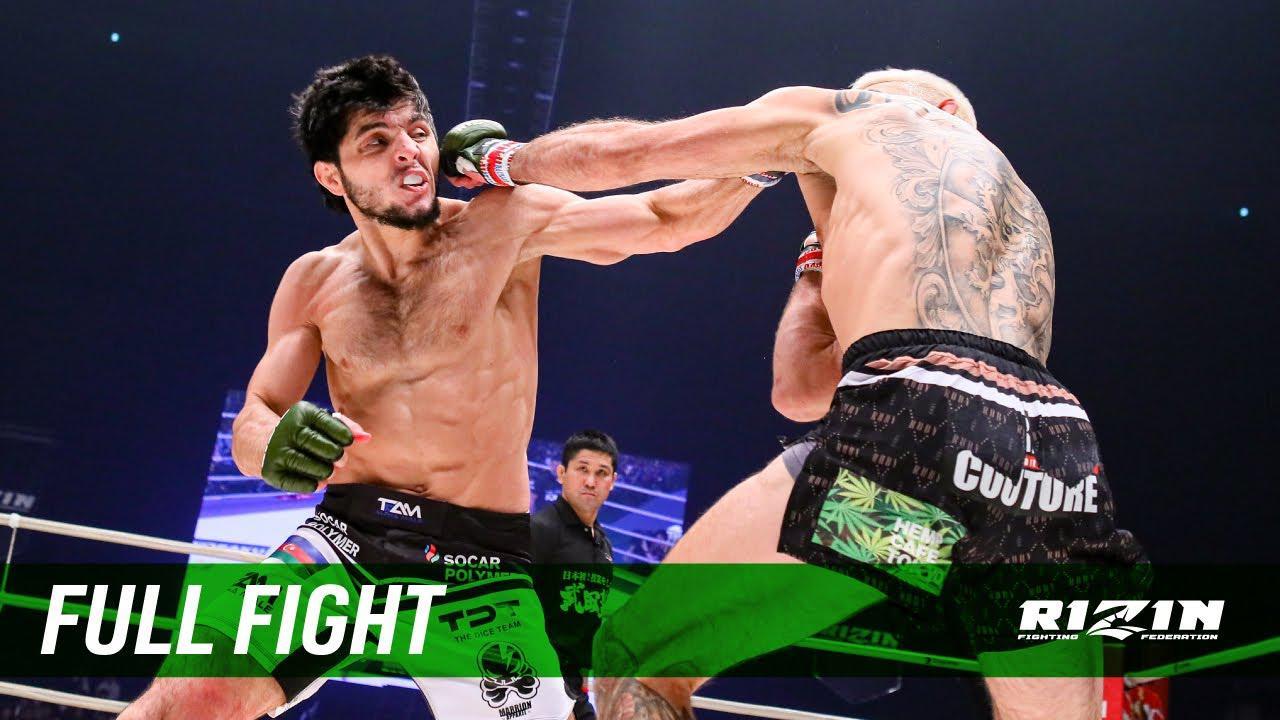 画像: Full Fight | ジョニー・ケース vs. トフィック・ムサエフ / Johnny Case vs. Tofiq Musayev - RIZIN.20 youtu.be