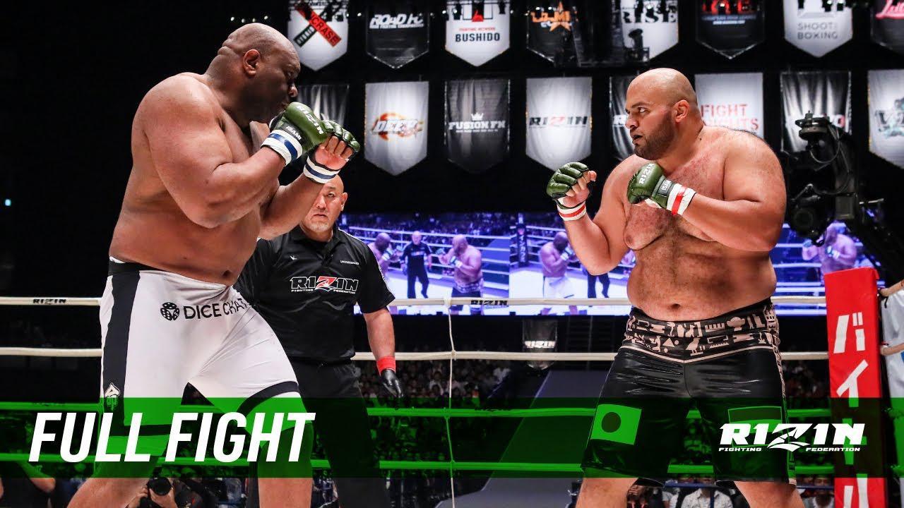 画像: Full Fight | 大砂嵐 vs. ボブ・サップ / Osunaarashi vs. Bob Sapp - RIZIN.13 youtu.be