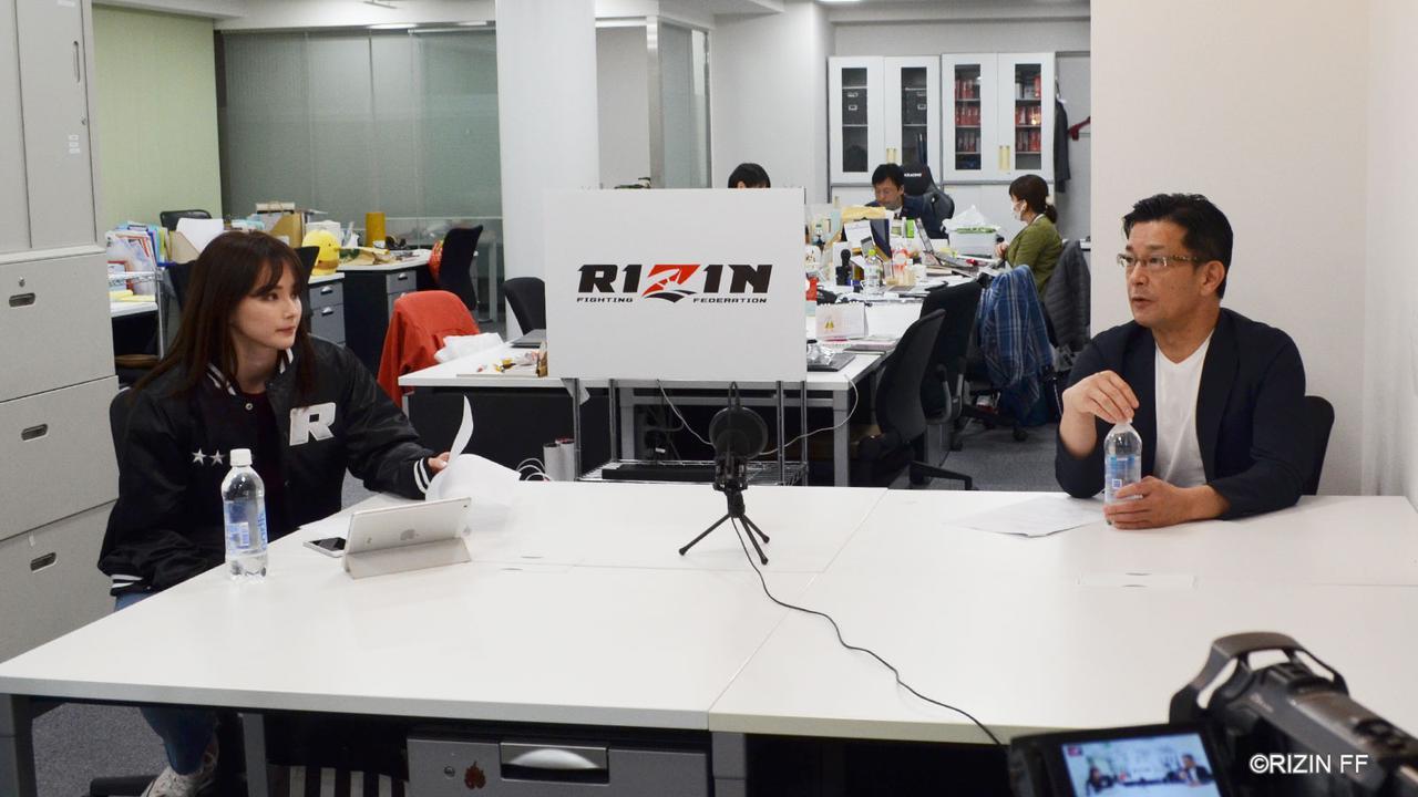画像: 視聴者のコメントに答える番組「榊原社長に呼び出されました」第1回が終了! - RIZIN FIGHTING FEDERATION オフィシャルサイト
