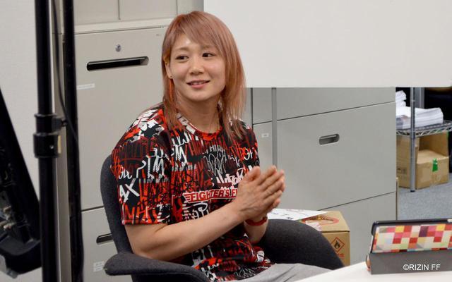 画像1: 渡辺華奈「RIZIN代表として世界に挑戦したい」第8回 「榊原社長に呼び出されました」