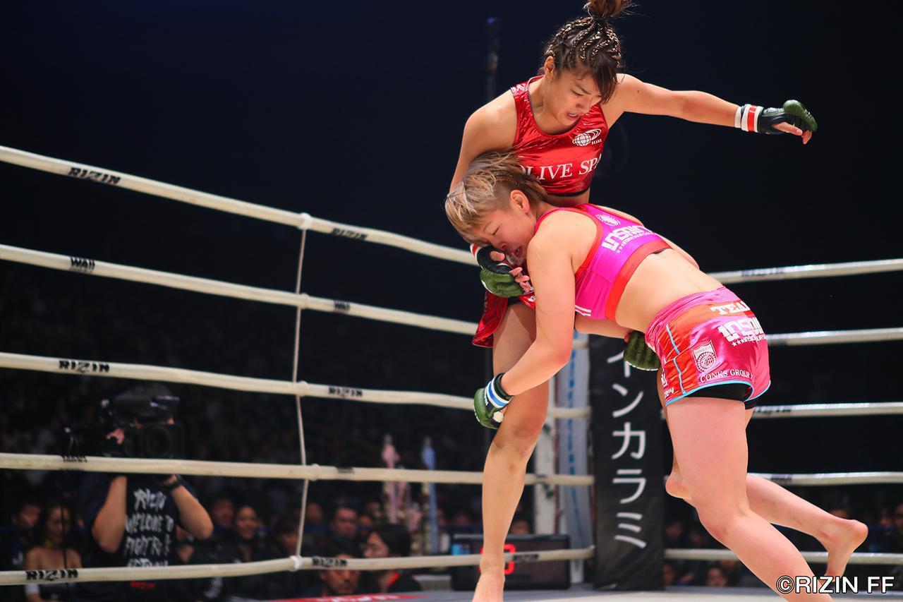 画像4: 「浅倉 カンナがRENAに完勝!RIZIN初代女王に輝く!!」