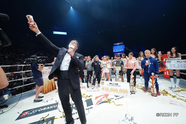 画像2: 「全試合終了!髙田延彦RIZIN統括本部長が二日間の激闘を締めくくる」