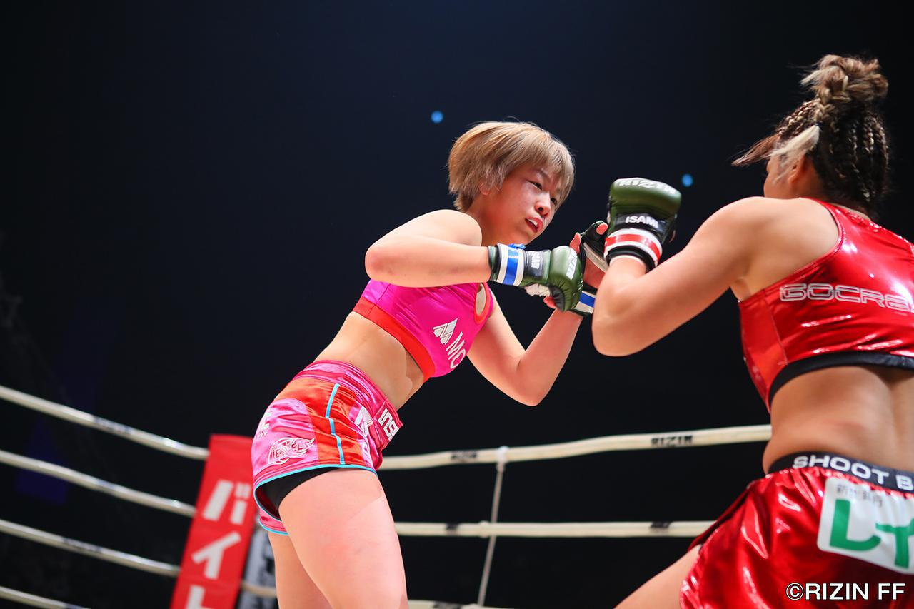 画像2: 「浅倉 カンナがRENAに完勝!RIZIN初代女王に輝く!!」