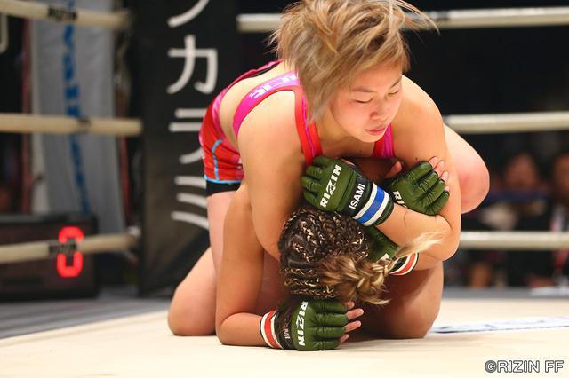 画像5: 「浅倉 カンナがRENAに完勝!RIZIN初代女王に輝く!!」