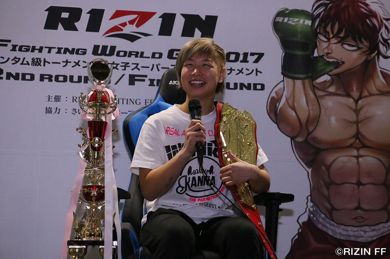画像: 試合後インタビュー:浅倉 カンナ