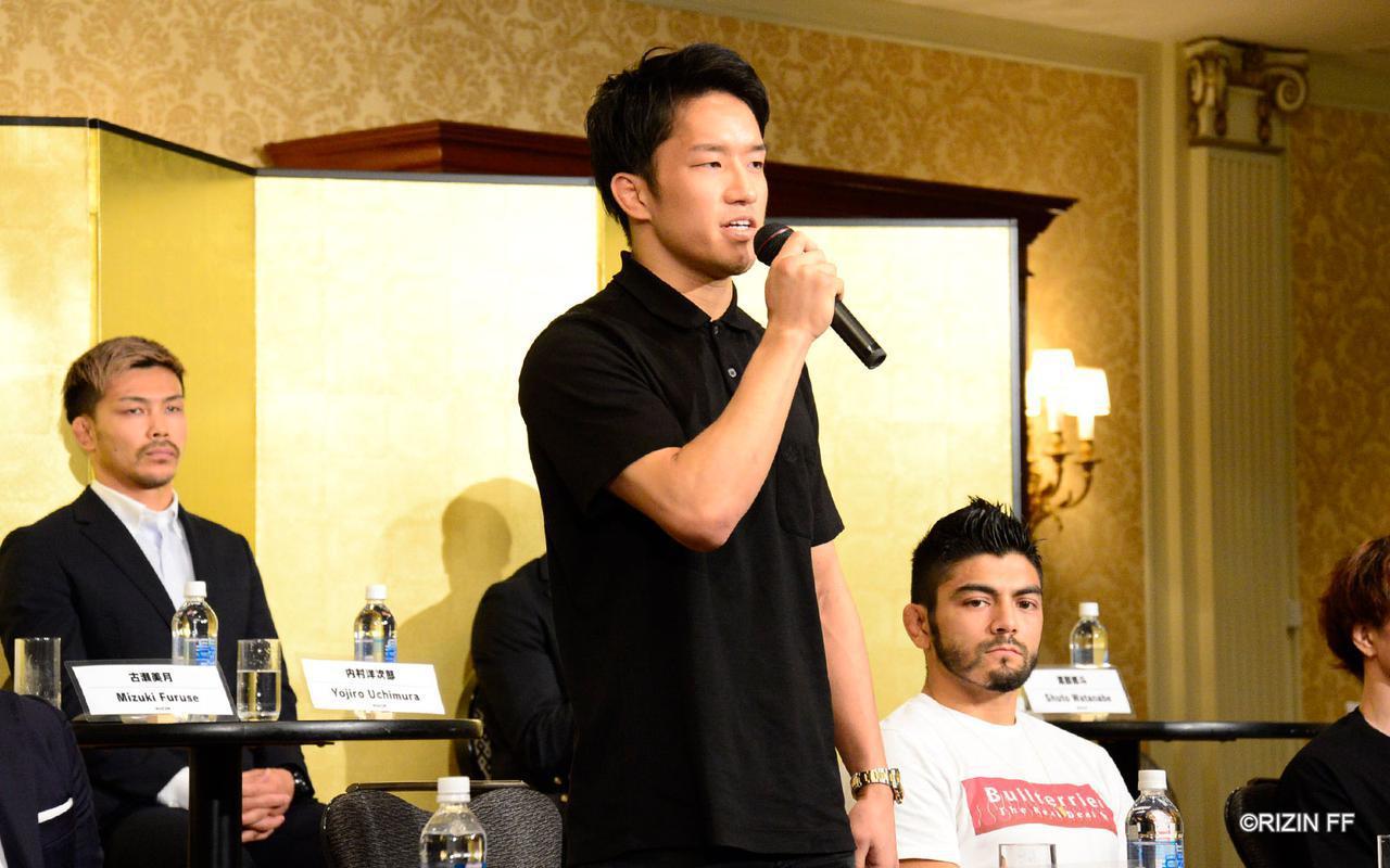 画像4: 朝倉海「勝ってRIZINを引っ張る」扇久保「良い試合をしましょう」バンタム級タイトルマッチが決定!