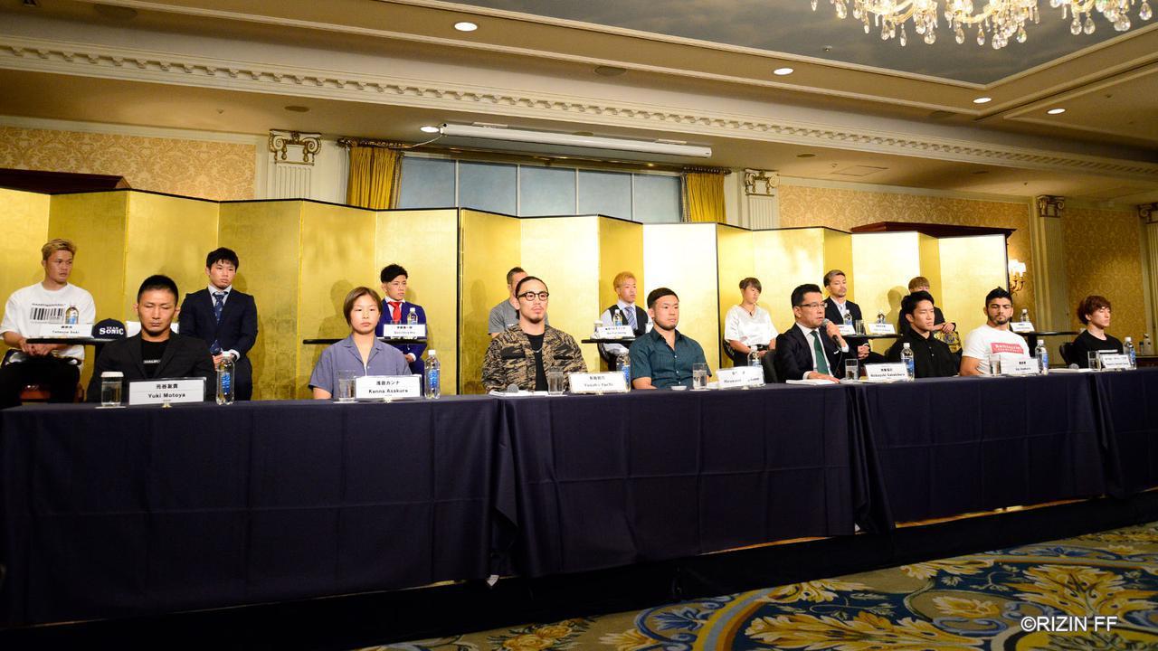 画像: バンタム級タイトルマッチを含む全8カードを発表!RIZIN.22 / RIZIN.23 公開記者会見 - RIZIN FIGHTING FEDERATION オフィシャルサイト
