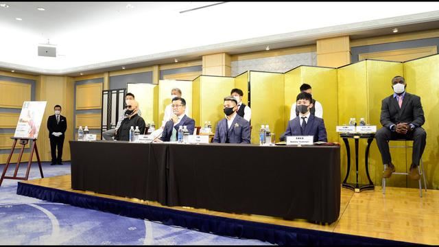 画像: RIZIN.22/RIZIN.23 対戦カード発表・皇治 電撃参戦 記者会見 2020.07.18 youtu.be