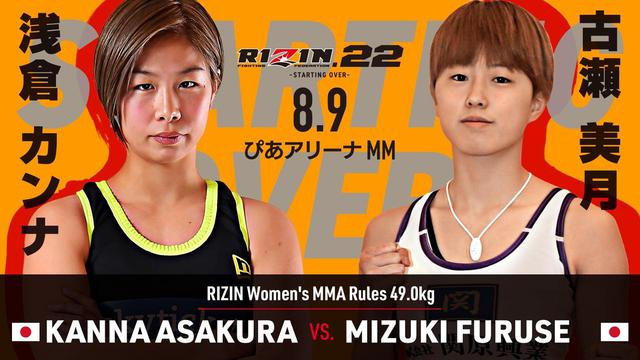 画像3: RIZIN.22 FIGHT CARD